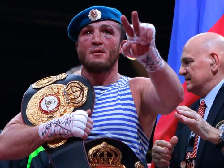 Russia Boxing Lebedev Kalenga
